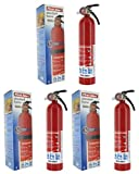 First Alert HOME1 ABC 2.5 Pound Rechargeable Fire Extinguisher-HOME1-1-A:10-B:C-10-Year Warranty, 1 Pack