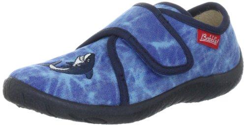 Beck Jungen Shark Hausschuhe, Blau (dunkelblau), 26 EU