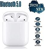 Cuffie Bluetooth Cuffie wireless Eliminazione del rumore Cuffie stereo Microfono 3D incorporato Auricolari sportivi in-ear con custodia di ricarica portatile