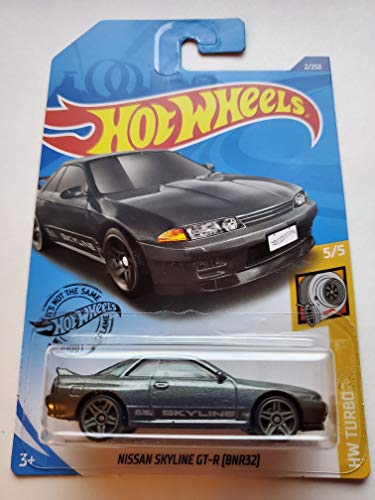 Hot Wheels 2020 Hw Turbo Nissan Skyline GT-R [BNR32], 2/250 Gray