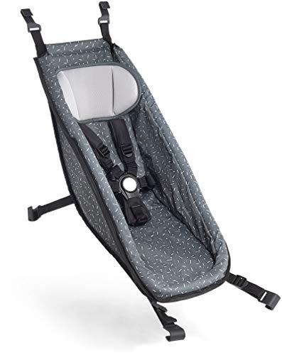 Croozer Babysitz für Kid ab 2014 Graphite Blue/White 2020 Fahrradanhänger