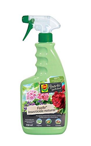 Compo Fazilo insecticida natural, Pulverizador, Control de plagas en plantas ornamentales de interior y exterior, 750 ml