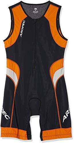 Aropec Lion - Mono deportivo de lycra para hombre (con FPS UV 50+, para correr, triatlón, nadar, ciclismo, talla XL)