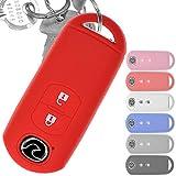 Soft Case Schutz Hülle Auto Schlüssel Key Cover Keyless Rot für Mazda 2 3 6 CX-3 CX-5 MX-5 2...