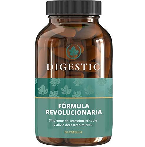 Digestic - Laxante para el estreñimiento - Nueva fórmula revolucionaria, 100% natural - 60 Cápsulas