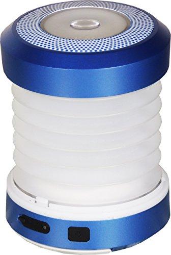 PowerPlus Erdmännchen Dynamo Camping Licht Taschenlampe, Stahl, blau