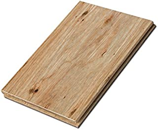 Cali Bamboo - Eucalyptus Hardwood Flooring, Wide T&G, Natural Brown - Sample Size 8