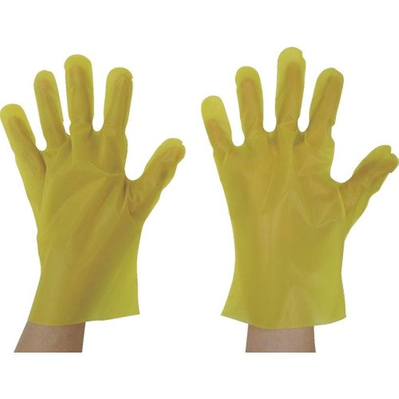 宣言する保持団結する東京パック エンボス手袋五本絞りエコノミー化粧箱M イエロー YEK-M