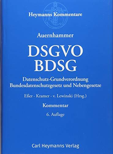 DSGVO/ BDSG: Datenschutz-Grundverordnung/ Bundesdatenschutzgesetz und Nebengesetze - Partnerlink