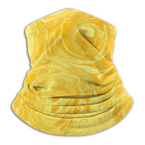 N/A Naadloos Gezichtsmasker Bandanas Nek Warmer Sjaal Gaiter Winddichte Mannen En Vrouwen, Honing gele rozen abstract_troost