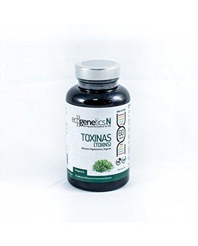 Ecogenetics Toxinas - DRENADOR DE TOXINAS 100% NATURAL - 60 cáps