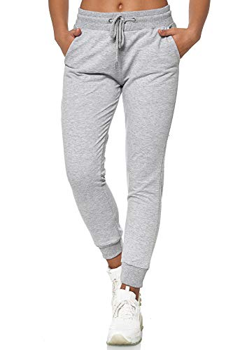 MERISH Jogginghose Damen Jogginganzug Jogger Frauen Trainingshose Slim Fit 278 (XS, 278 Grau Melange)