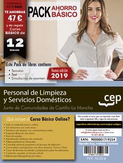 PACK AHORRO BASICO PERSONAL LIMPIEZA Y SERVICIOS DOMESTICOS