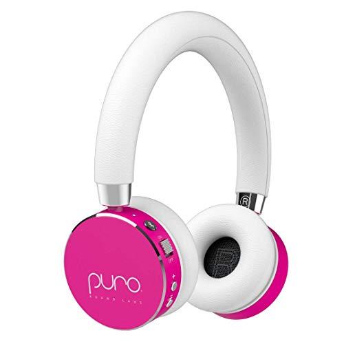 Kids Volume Limiting Bluetooth Wireless Headphones by Puro Sound Labs