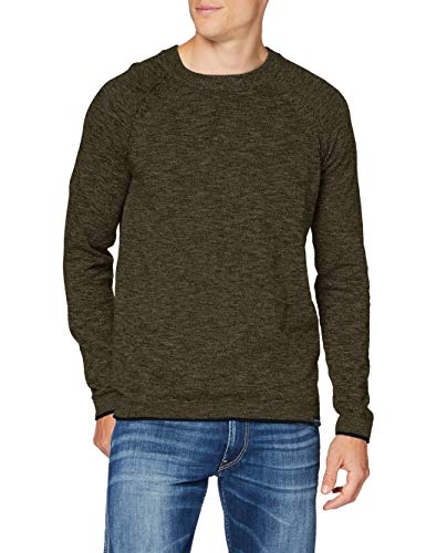 Garcia Men\'s Gs010831 Pullover Sweater, Modern Army, XXXL