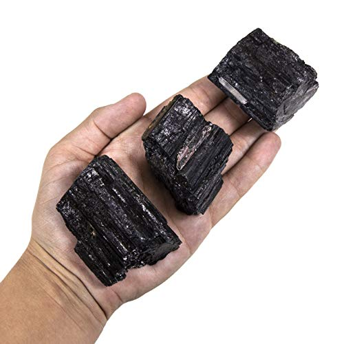 Tourmaline Stone for EMF Protection and Grounding Beverly Oaks Charged Black Tourmaline Crystal Complete Kit Deluxe
