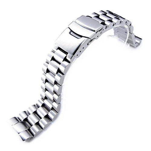 MiLTAT - Correa de reloj para Seiko Turtle SRP773 SRP775 SRP777 SRPA21 (22 mm)