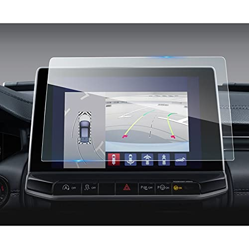 LFOTPP J*eep Compass 2021 10,1 Zoll Navigation Panzerglas Schutzfolie für, GPS Navi Bildschirmschutzfolie Auto Zubehör