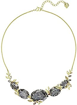 Swarovski March Squirrel 23k Gold-Plated Crystal Necklace