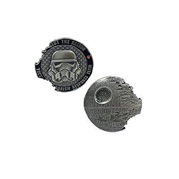 KK-001 Death Star 2 Tactical Terrorism Response Team TTRT CBP Challenge Coin Storm Trooper Star Wars Rogue