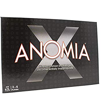 Anomia X Card Game - Party Game for College Students and Adults - Award Winner - Where Common Knowledge Becomes Entirely Inappropriate!