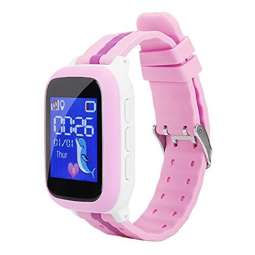 Denkerm Reloj de teléfono para niños, Reloj Inteligente multifunción Impermeable para niños,...