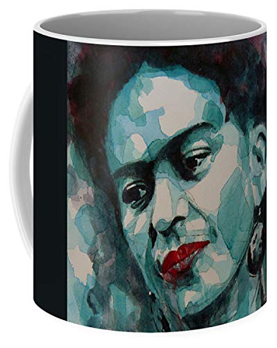 Lplpol Frida Kahlo - Taza de café y té (325 ml)