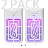 Electric Bug Zapper, Powerful Insect Killer, Mosquito Zappers, Mosquito lamp, Light-Emitting Flying Insect Trap for Indoor. 2pack