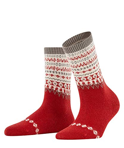 FALKE Damen Fjord Socken, rot (Chili 8294), 39-42 (UK 5.5-8 Ι US 8-10.5)
