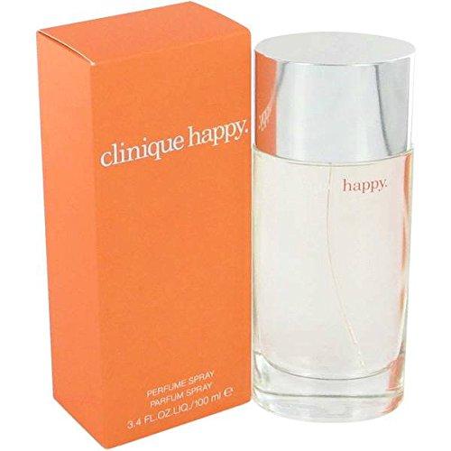 Clinique Happy Eau de Parfum Spray for Women, 3.4 Fluid Ounce