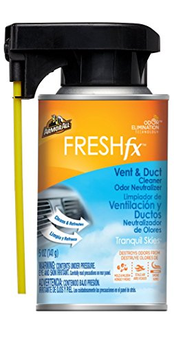 Armor All Car Air Freshener and Cleaner - Odor Eliminator for Cars & Truck, Freshfx Tranquil Skies, 5 Fl Oz Vent & Duct, 18546