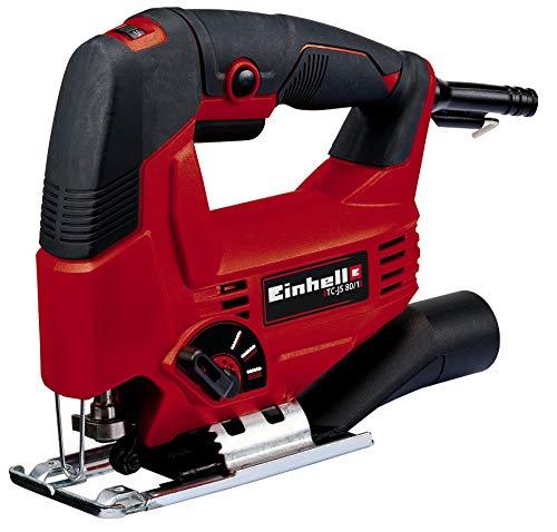 Einhell 4321145 Sierra de Calar Electronica TC-JS 80/1 Potecia 550 w, Rojo