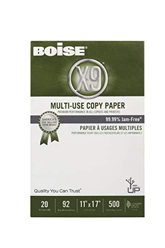 Boise Paper X-9 Multi-Use Copy Paper, 11