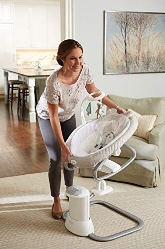 41p1mVwofbL The Best Battery Operated Baby Swings in 2021 Reviews
