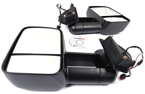 Purchase Clearview Premium Electric Power Adjustable Towing Mirrors with Turn Signal Indicators for ...