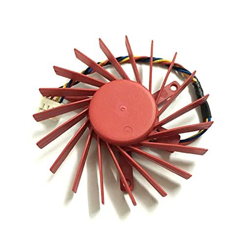Diámetro de la computadora 60 mm 0.4A PLD06010B12HH GPU Fan del refrigerador para ATI HD4850 V7800 V7800 V5800 V5900 Enfriamiento de la Tarjeta de gráficos