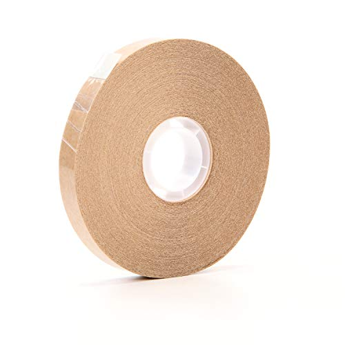 3M ATG Adhesive Transfer Tape 987, Clear, 1/2 in x 60 yd, 1.7 mil