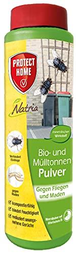 PROTECT HOME Natria Bio- und Mülltonnenpulver, gegen Maden und Fliegen in der Mülltonne, 500 g