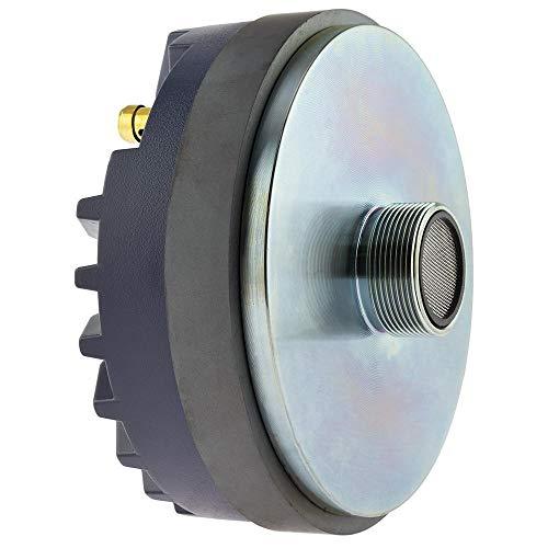 """DS18 PRO-DR200 Compression Driver - 2"""", 300W Max, 100W RMS, 8 Ohms, 2"""" Dual Layer Kapton Voice Coil, Aluminum Diaphragm - No Other Compression Driver Can Compare (Single)"""