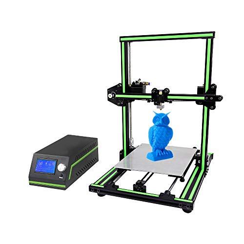 JFCUICAN Imprimante 3D Installation modulaire de Cadre en Aluminium multilingue réglé d'imprimante d'A n e t E10 3D DIY avec Le résumé
