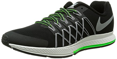 Nike Zoom Pegasus 32 Flash GS, Scarpe da Corsa Uomo, Black/Reflect Silver-Pr Pltnm, 36 EU