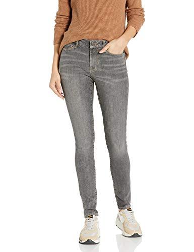 Goodthreads Mid-Rise Skinny jeans, Hi-Lo Grey, 27 Short