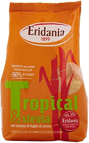 Eridania Zucchero di Pura Canna Tropical e Stevia - 500g