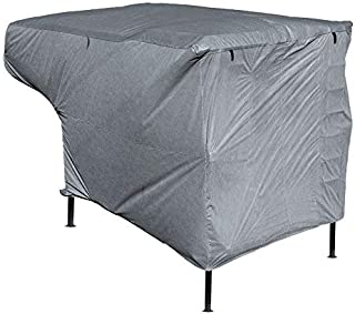 Leader Accessories New Easy Setup RV Trailer Cover Fits Truck Camper with Assist Poles (8'-10')