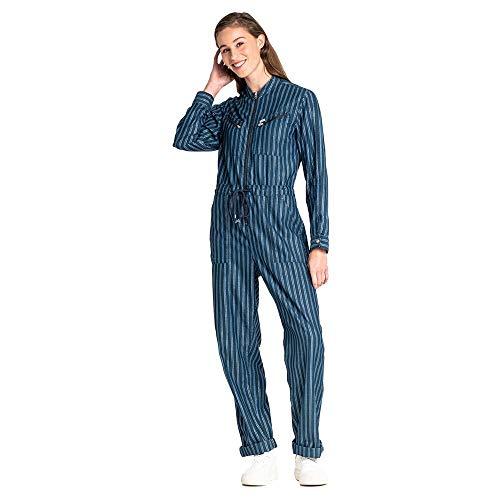 Lee Femme Jumpsuit Latzhose, Bleu (Washed Blue Lr), X-Small