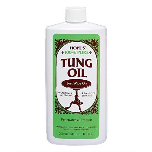 HOPES 100% Pure Tung Oil Wood Finish