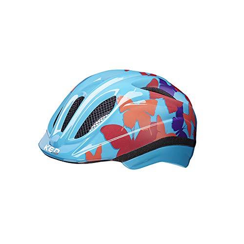 KED Meggy II Trend Helm Kinder Butterfly/Blue Kopfumfang XS   44-49cm 2020 Fahrradhelm