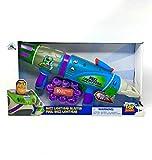 Disney Pixar Toy Story Buzz Lightyear Space Ranger Blaster - 10 Purple Foam Balls Included - Lights & Sounds