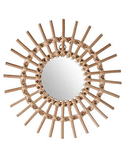 miroir rotin centrakor