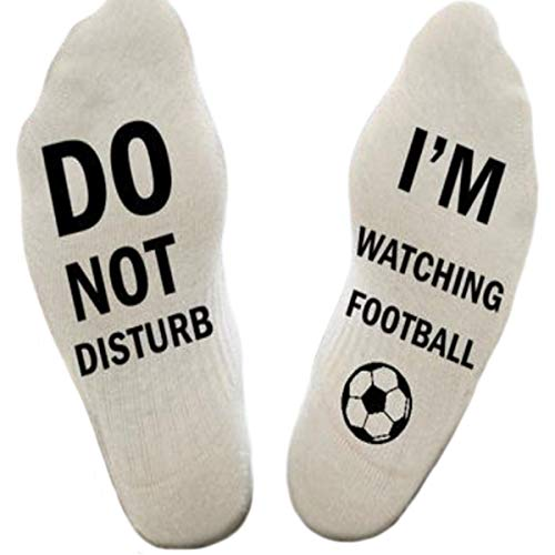 Do Not Disturb, I'm Watching Football Socks